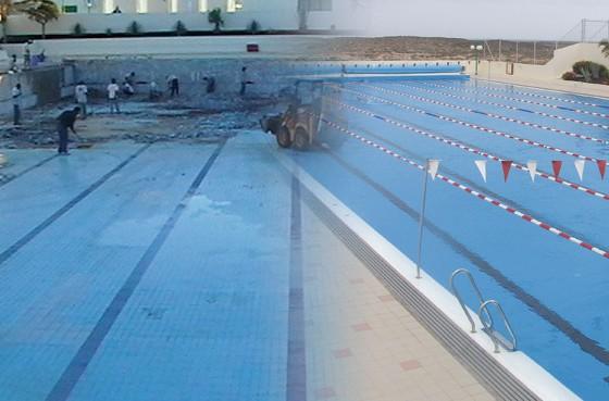 Rehabilitación pública de piscinas