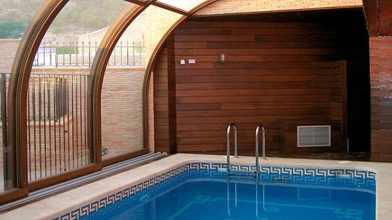 Oferta de cubiertas para piscinas cubiertas piscinas for Oferta piscinas bricomart