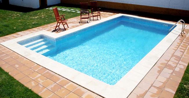 Oferta de piscina rectangular 8x4 piscina de acero for Precio piscina obra