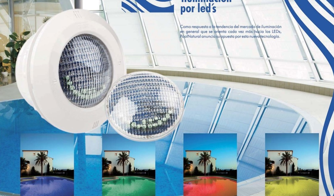 Luces led para piscinas pool natural - Luces para piscinas ...