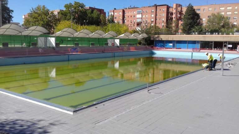 Piscina Canal Isabel II Madrid Chamberí